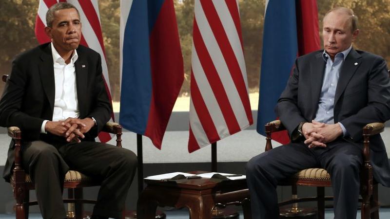 Poutine et Obama