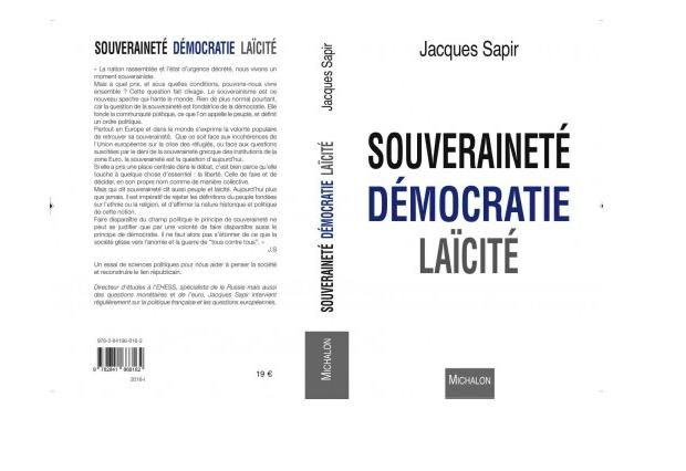 Sapir Souverainete democratie laicite